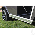 Rocker Panel Insert Set, Diamond Plate, Club Car 85+