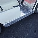 Rocker Panels Set, Diamond Plate, Yamaha G14-G22