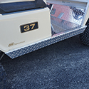 Rocker Panel Set, Diamond Plate, Club Car 85+