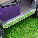 Rocker Panels, Diamond Plate, Club Car Precedent